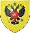 Blason de la Russie à l'époque de S.E. Douvan -